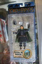 "Toy Biz Lord of The Rings The Return of the King ""Pippin in Armor""  NIB JSH"