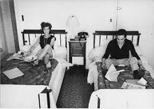 Romy Schneider, Alain Delon  2 Photographies 1959