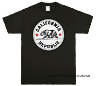 Cali Bear California Republic Graphic T shirt