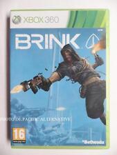 jeu BRINK sur xbox 360 en francais game spiel juego gioco action complet TBE