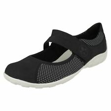 Ladies Rieker Mary Jane Style Shoes - L6551