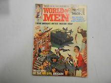 World of Men #1 from January 1963! Extremely rare men's Pulp Magazine! MUST SEE!
