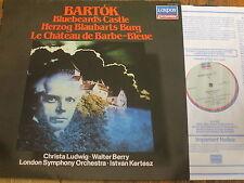414 167-1 Bartok Bluebeard's Castle / Ludwig / Berry / Kertesz