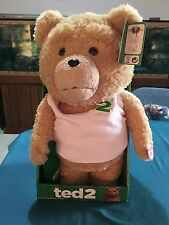 """Commonwealth Toys Ted 2 18"""" Talking Plush With Bottle"""