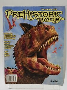 THE PREHISTORIC TIMES #76 - magazine of Dinosaur collecting
