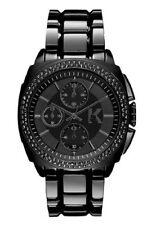 Karl Lagerfeld KL1602 Black Glitz Chronograph black glitz gunmetal Ladies Watch