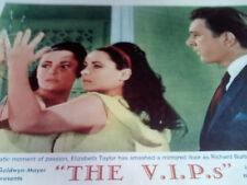 ELIZABETH TAYLOR, The V.I.P.s (1963) Lobby Card #3, RICHARD BURTON, US ORIG,N MT