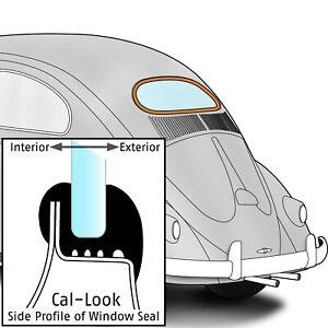1953-1957 Volkswagen Beetle Sedan Rear Window Seal Cal-Look 354771