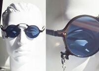 Vintage! New! Jean Paul GAULTIER JUNIOR Round Lens sunglass 58-0271 Clip chain