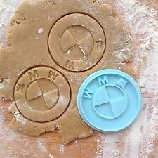 BMW cookie cutter. Car emblem cookie stamp. BMW logo cookies