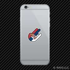 Serbian Shocker Cell Phone Sticker Mobile Serbia SRB RS