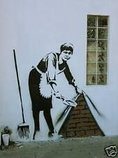 Qualità Banksy Arte Foto Stampa (MAID a Los Angeles)
