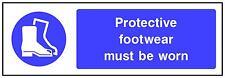 180x60mm de protection chaussures doit être portés garage usine