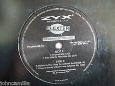 "FLEXTER - PROFONDO ROSSO (DEEP RED) 12"" RECORD /VINYL - ZYX MUSIC - PROMO 012-1"