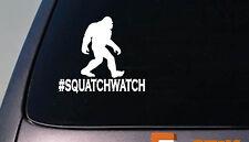 Squatchwatch Bigfoot Decal Yeti Sasquatch camper Sticker hiking camping *D688*