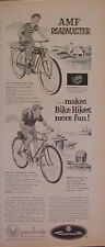 1953 Amf Roadmaster~Luxury Bicycles~Whippet Bikes Roadometer Memorabilia Art Ad