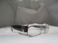 Valentino V 2104 R 033 Eyeglasses Black Rhinestone Authentic Free Ship