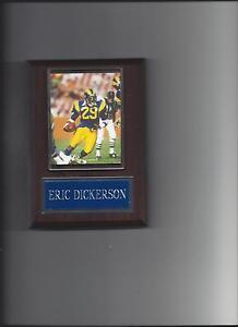 ERIC DICKERSON PLAQUE LOS ANGELES RAMS LA FOOTBALL NFL NEW