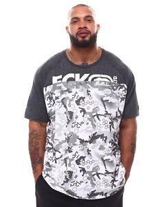 Ecko Unltd Embroidery Logo T-shirt Size L Rare!