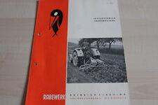 144118) Rabewerk Spatenkrümler Spatenrollegge Prospekt 10/1961