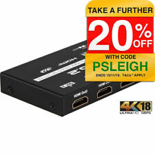Pro.2 2 Way HDMI Splitter HDMI2SPV2 1 in 2 out Slim 18gbps
