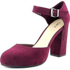 Block Heel Mary Janes Synthetic Heels for Women