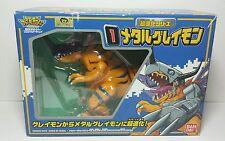 Rare Japanese Bandai Digimon Adventure Digivolving Greymon Metalgreymon Figure