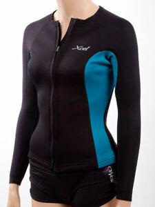 XCel Women's Longsleeve Front-Zip Aqua Fitness Wetsuit Jacket