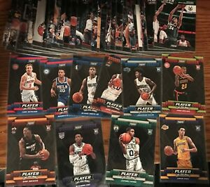 COMPLETE SET 2017-18 PLAYER OF DAY 1-30 + SP ROOKIE 1-10 TATUM FOX BAM LONZO RC