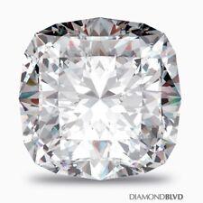 1.96 Carat F/SI2/Ex Cut Square Cushion AGI Earth Mined Diamond 7.04x6.41x4.68mm