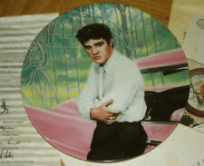 """ELVIS PRESLEY 'At The Gates Of Graceland"""" Ltd #ed 8"""" plate w/box & all inserts"""