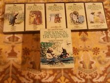 1985 Kenneth Grahame Wind in the Willows Set of5 Cassette Tapes Unicorn Kanchana