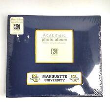 Marquette University Photo Album Graduation Gift NEW Sealed