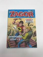 ZAGOR #2 - 1990s 90s - PROMO - Foreign Comic Book - VERY RARE - 5.5 FN-