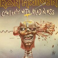 """IRON MAIDEN...CAN I PLAY WITH MADNESS - - 1988 Australian  7"""" 45 w/ P/SLV Metal"""