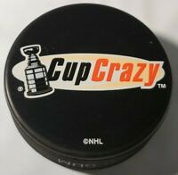 STANLEY CUP CRAZY VINTAGE OFFICIAL NHL INGLASCO VEGUM MFG. HOCKEY PUCK -SLOVAKIA