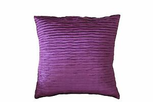 Beautiful & Stylish Scrunch Pleated Cushion Covers Pillow For Sofa Bed
