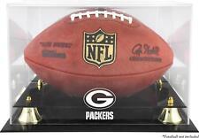 Green Bay Packers Team Logo Football Display Case - Fanatics