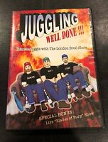 """The London Broil Show Live Comedy & Juggling DVD 2010 w/ Bonus """"Blades of Fury"""""""
