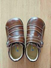 Toddler Boy Kid Dress Shoe Brown Size 7 Fashion Velcro