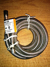Ice Maker Water Supply Line 10' Icemaker Connector Stainless Steel Braided