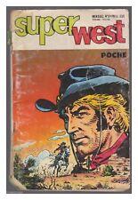 SUPER WEST POCHE N°  8 DE 1977 BE-
