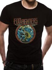 Foo Fighters - Globe T-Shirt Unisex Tg. XL CID