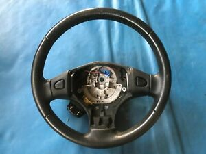 Rover 25 Black Leather Steering Wheel (Part #: QTB001420PMP YD)