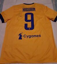 Maglia Higuain Juventus ufficiale autografata con certificato Taglia L 1/2