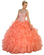 NEW MILITARY BALL PROM GOWN SWEET 16 PARTY MASQUERADE PAGEANT FORMAL DANCE DRESS
