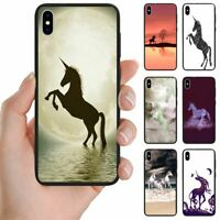 For OPPO Series - Unicorn Print Theme Back Case Mobile Phone Case Cover