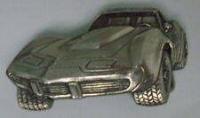 1979 Chevrolet Chevy Corvette Pewter Metal Limited Edition Vintage Belt Buckle