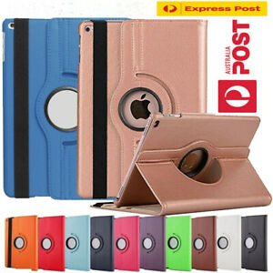 """360 Rotate Leather Case Cover For Apple iPad Pro 10.9"""" 9th 7th 6th Air1/2 Mini6"""