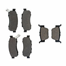 Complete Semi-Metallic Brake Pad Set for Honda Pioneer 700/700-4